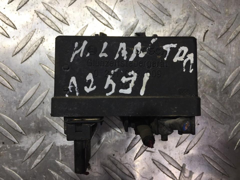 Glow plug relay Hyundai Lantra 1998    1.9 0281003009