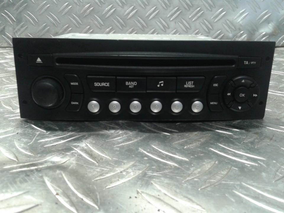 Autoradio 96662669XT04 A2C53257827 Peugeot 207 2009 1.4