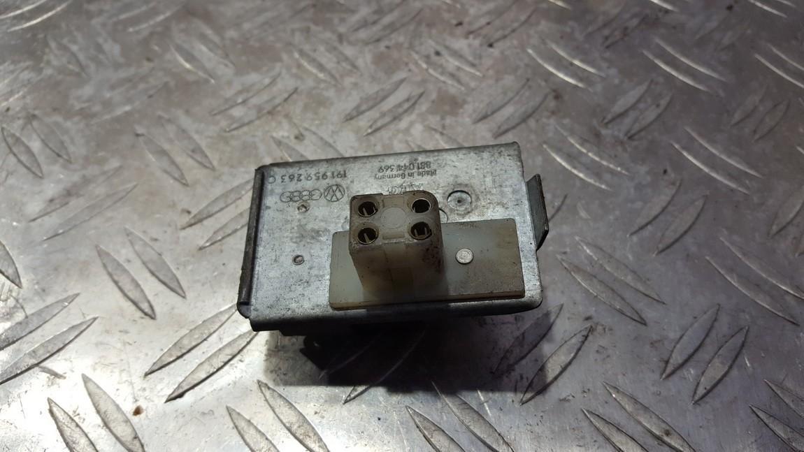Heater Resistor Volkswagen Golf 1988    1.4 191959263C