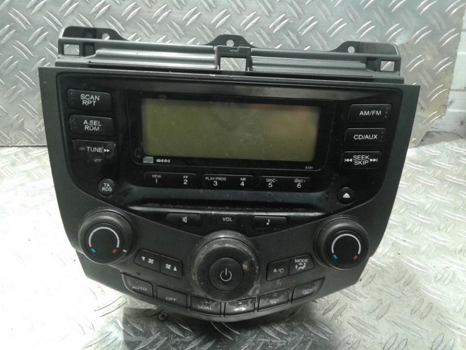 Automagnetola 39050SEFG110M1 39050-SEF-G110-M1 Honda ACCORD 1996 1.8