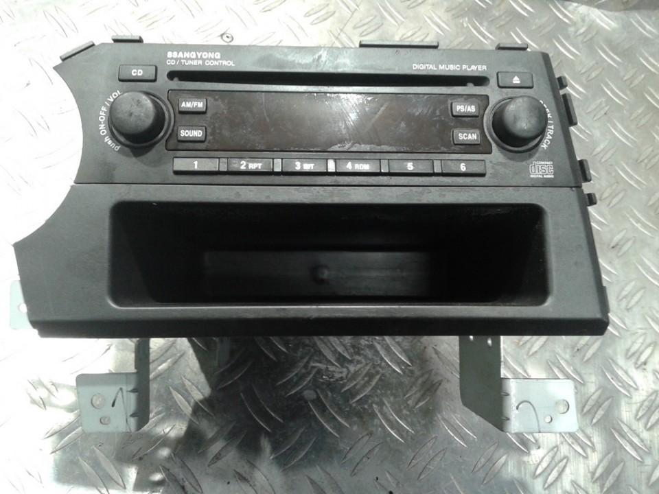 Automagnetola MCD6000E2 MCD-6000E2, 89100-09100, 8910009100 SsangYong KYRON 2005 2.0
