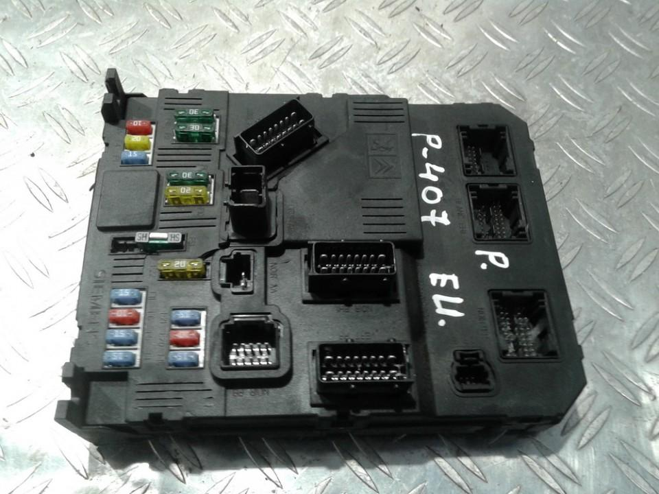 Komforto blokas 9655708480 S120104600L Peugeot 407 2006 1.6