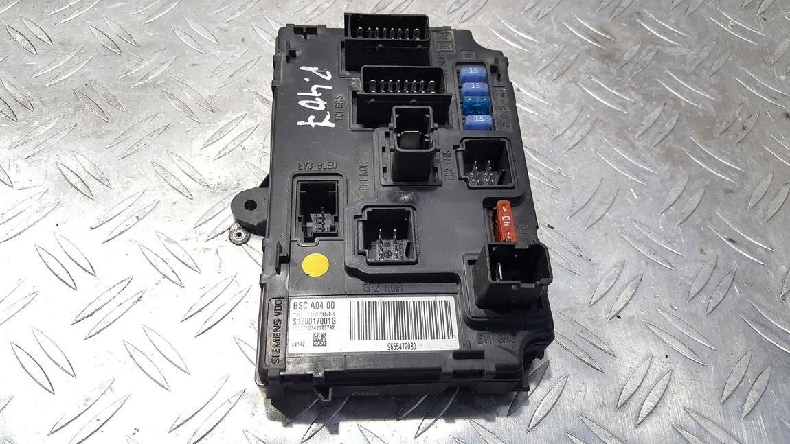 Komforto blokas S120017001G 9655472080, 2001710742123792 Peugeot 407 2004 1.6