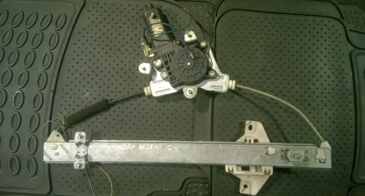 Стеклоподъемник - задний левый NENUSTATYTA NENUSTATYTA Hyundai ACCENT 1997 1.5