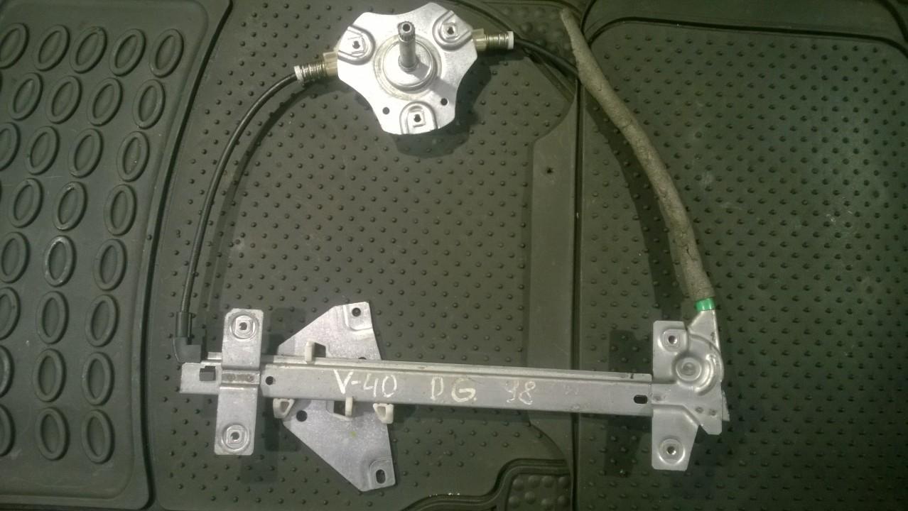 Door winder mechanism (Window Regulator) rear right side NENUSTATYTA NENUSTATYTA Volvo V40 1998 1.9