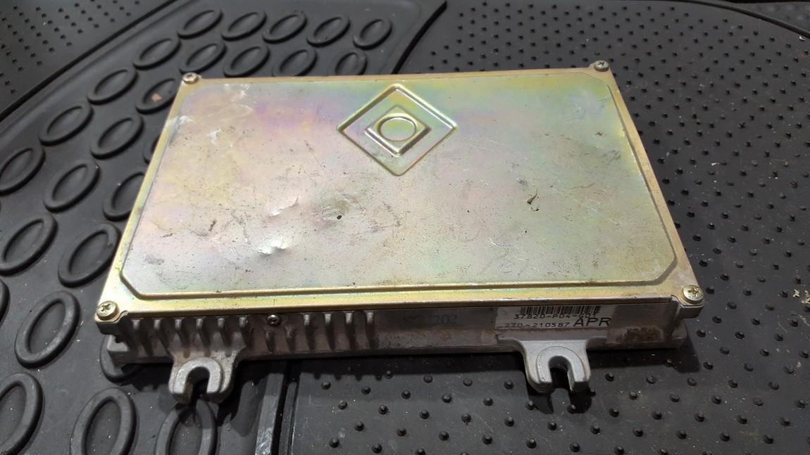 ECU Engine Computer (Engine Control Unit) 37820p04g01 37820-p04-g01, 270-210587, apr Honda CIVIC 1996 1.4