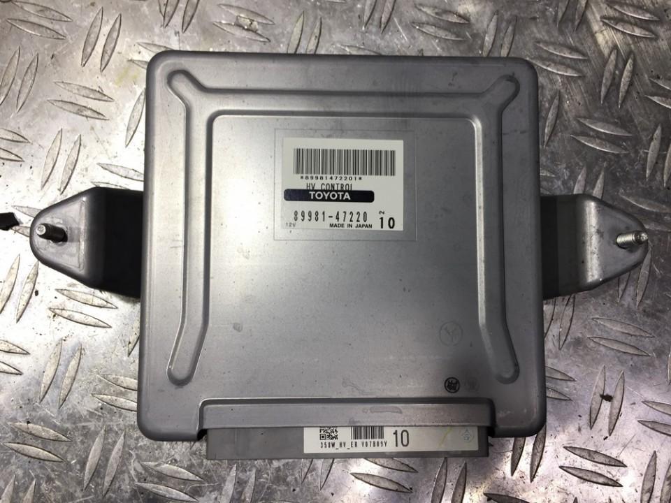 8998147220 358w_hv_er, v07b09y, 10 ECU Engine Computer (Engine Control  Unit) Toyota Prius 2005 1 5L 55EUR EIS00170494   Used parts Shop