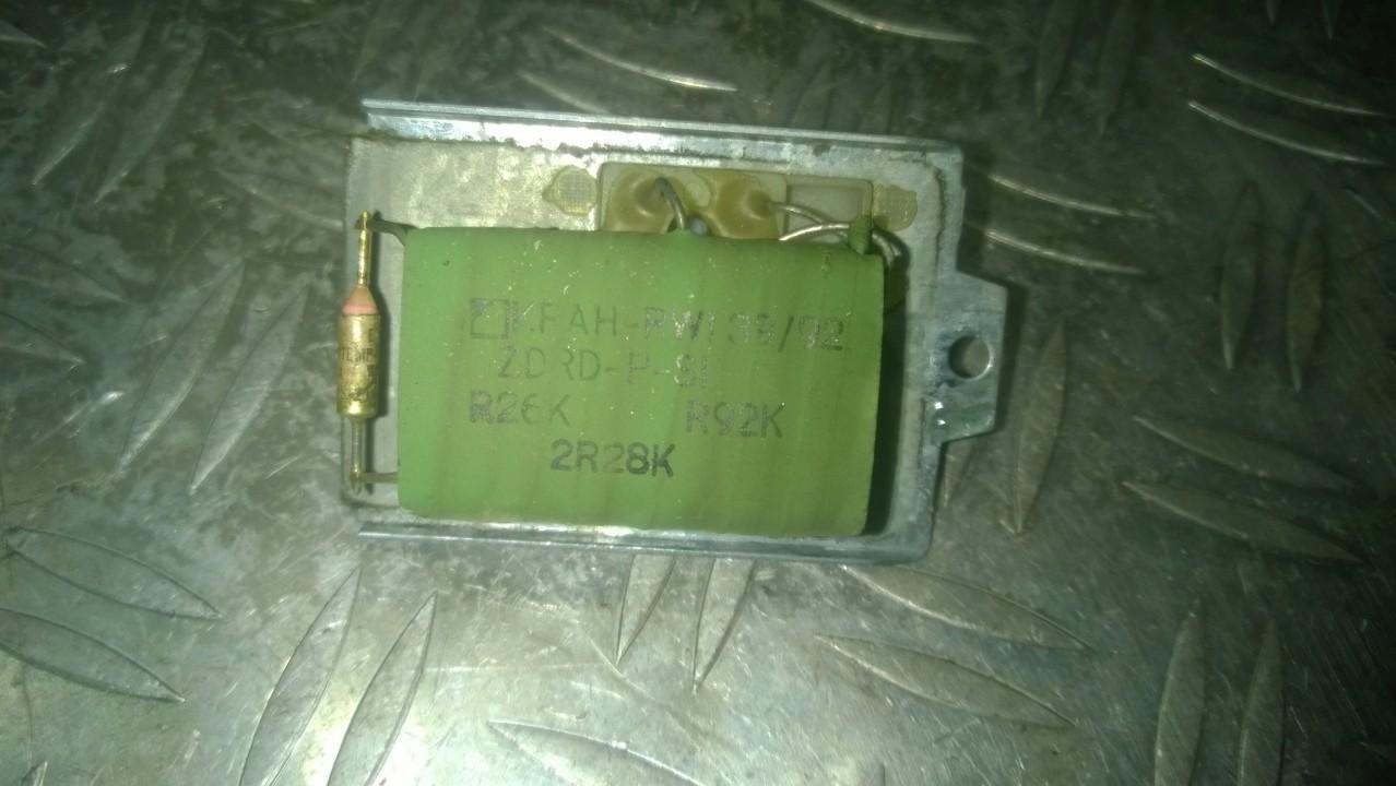 Heater Resistor Volkswagen Passat 1993    1.9 H04110464B