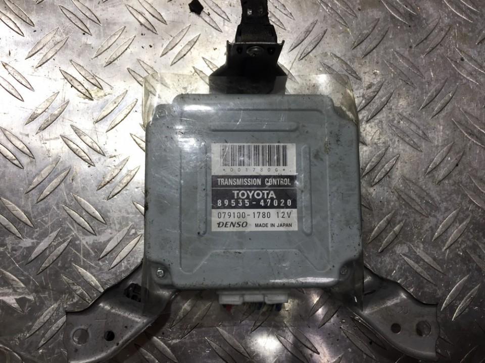 Transmission Computer  Toyota Prius 2007    1.5 8953547020