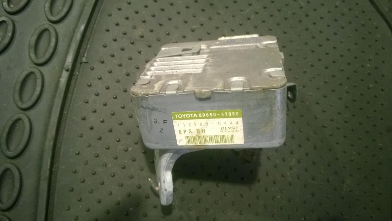 Power Steering ECU (steering control module) Toyota Corolla 2007    2.0 8965047090