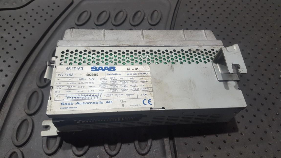 Audio amplifier SAAB 9-5 2001    2.0 4617163
