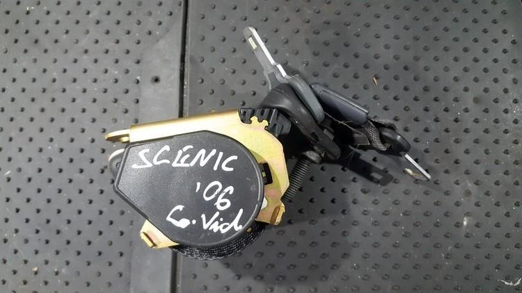 Ремень безопасности - задний средний 8200309280 a6021702 Renault SCENIC 2004 1.5