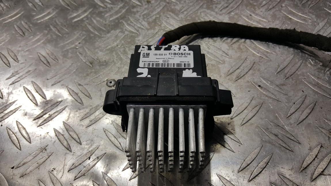 Heater Resistor (Heater Blower Motor Resistor) 13503201 F011500056 Opel ASTRA 2002 2.0