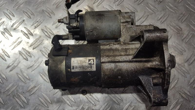 Starteris M000T85381 nenustatyta Citroen C5 2007 1.6