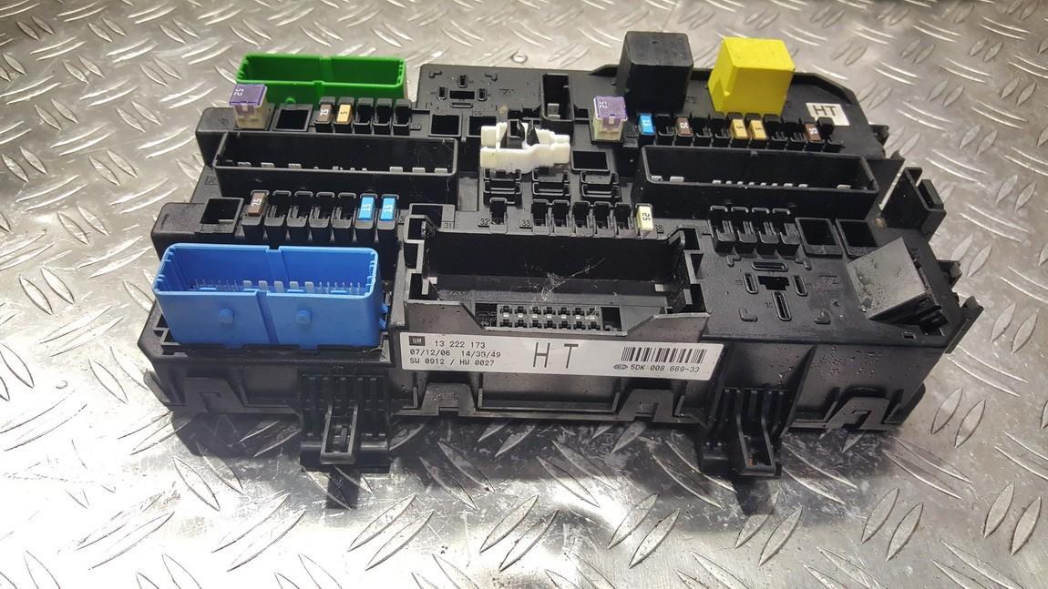 Komforto blokas 13222173 5DK008669-33, 5DK00866933, SW0912/HW0027 Opel ASTRA 2006 1.9