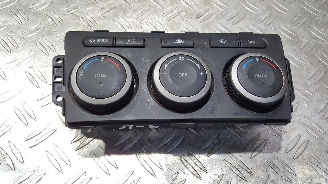 T1005817Z GAP361190A Peciuko valdymas Mazda 6 2009 0.0L 32EUR EIS00172888