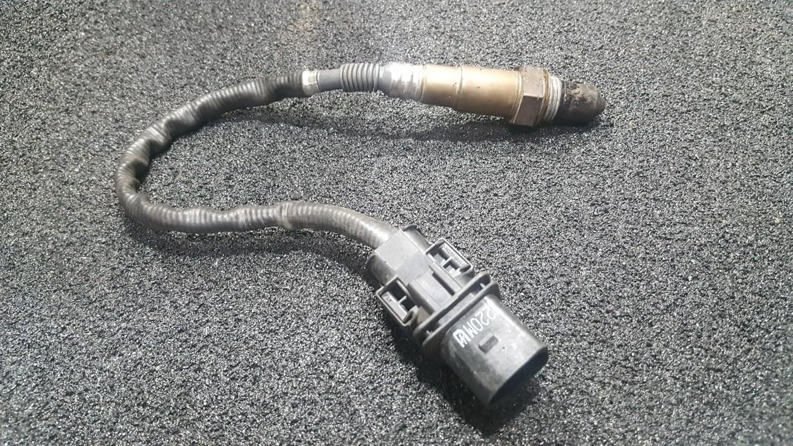 Lambda sensor 5 wires, WHITE BLACK YELLOW GREY RED BMW  X5, F15 2013.06 -->