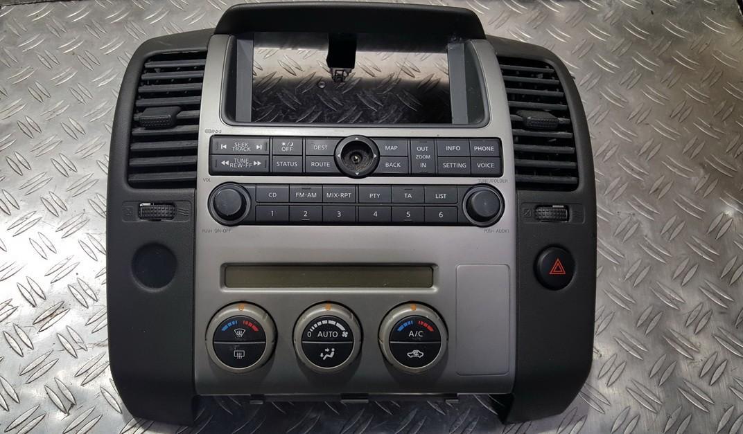 Peciuko valdymas 27500EB56C 081820062325 Nissan NAVARA 2007 2.5