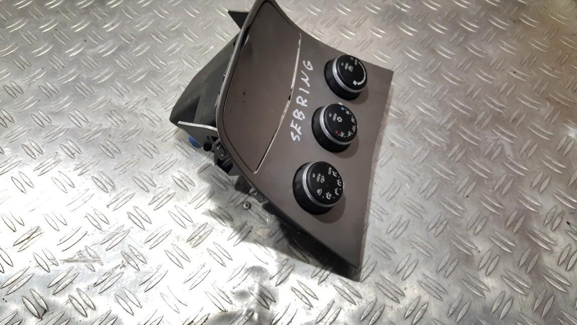 Peciuko valdymas P55111815AE 58024B, 00000600166305 Chrysler SEBRING 2009 2.0