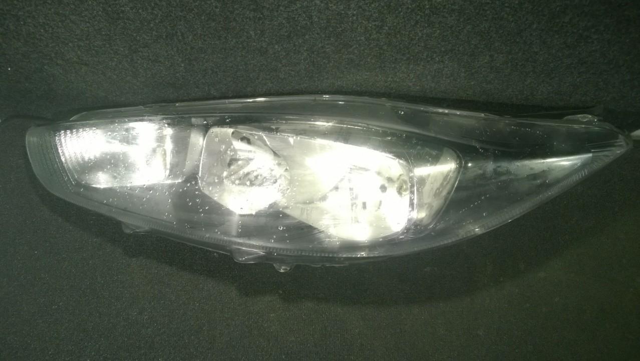 Front Headlight Left LH C1BB13W030 175PI6389 Ford FIESTA 2009 1.3