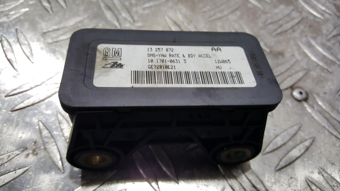 Esp Accelerator Sensor (ESP Control Unit) 13257072 10.1701-0631.3, 10.1701063.3, 10170106313, GE72B10E21 Opel ASTRA 1999 2.0