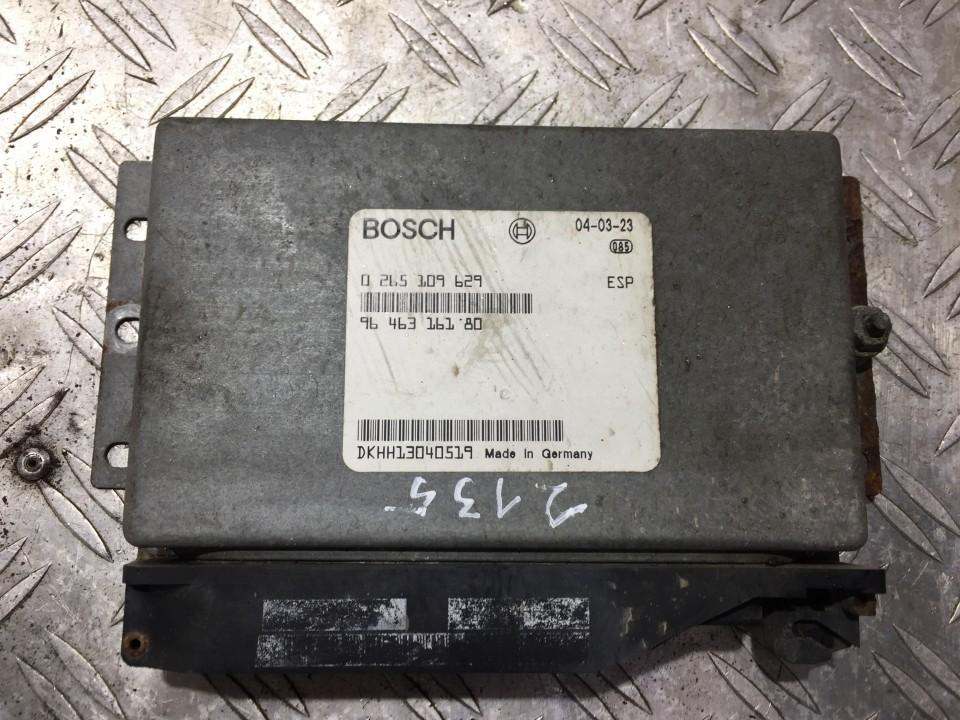 ESP kompiuteris 0265109629 9646316180 Peugeot 607 2000 2.2