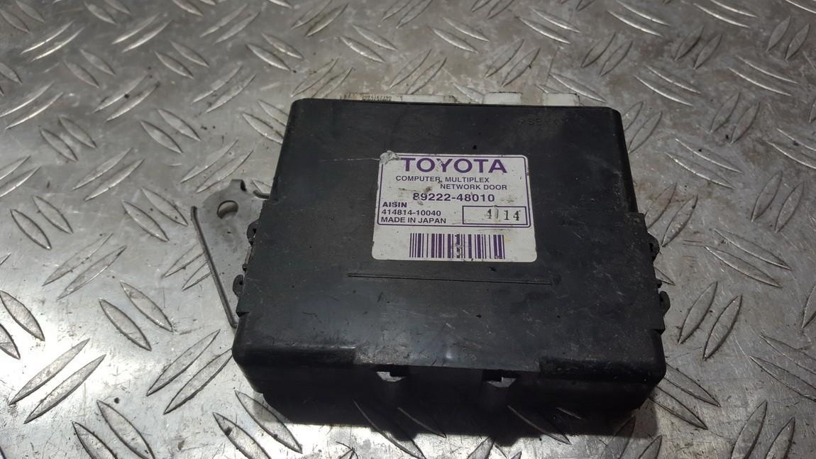 Door control relay Lexus RX - CLASS 2006    3.0 8922248010