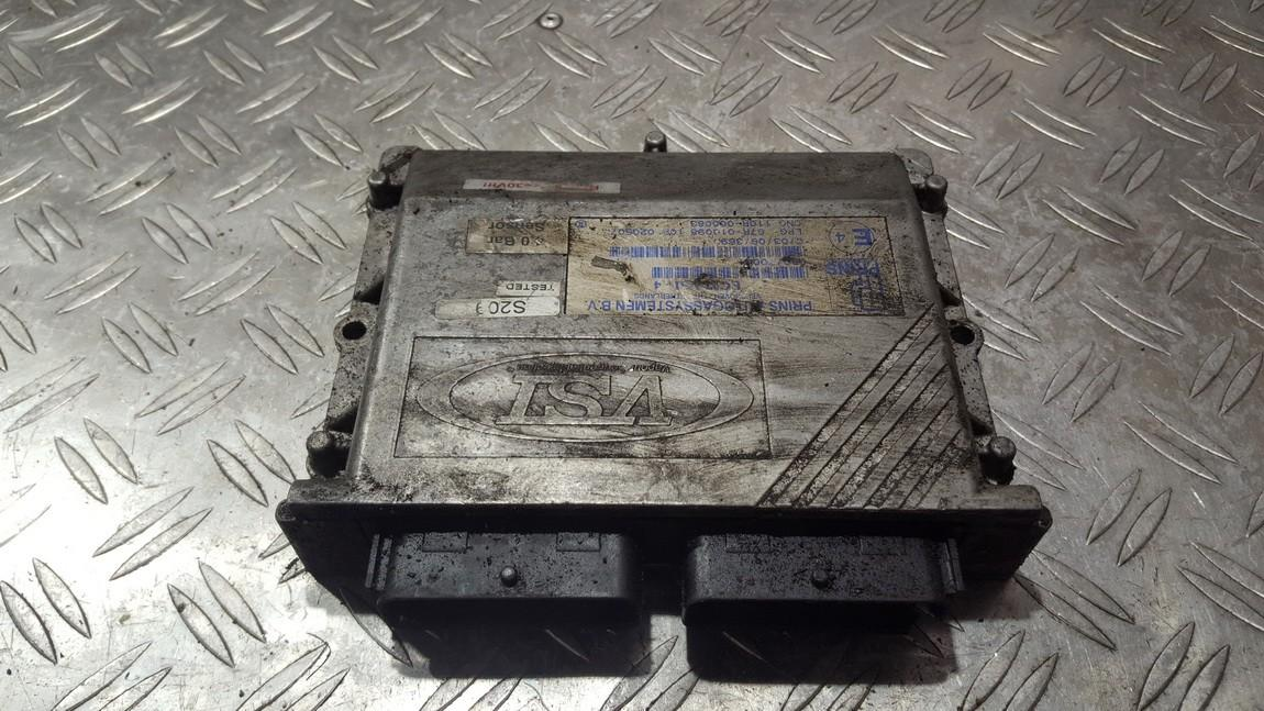 GAS control module (unit computer) Renault Laguna 2003    2.0 67r010098