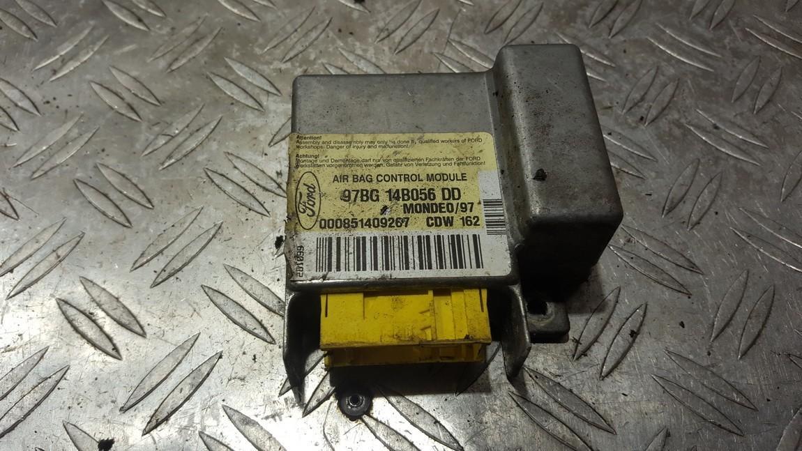 SRS AIRBAG KOMPIUTERIS - ORO PAGALVIU VALDYMO BLOKAS 97bg14b056dd cdw162 Ford MONDEO 2007 2.0