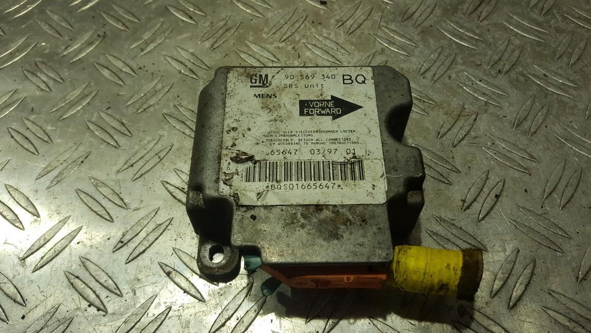 SRS Airbag kompiuteris Opel  Vectra, B 1995.09 - 2000.09