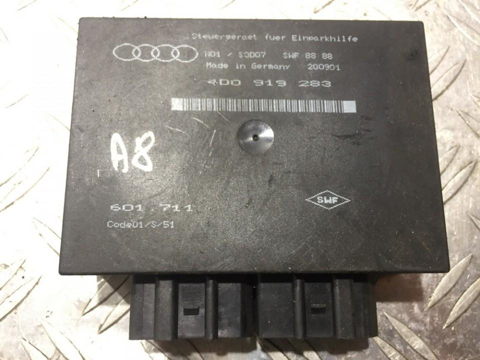 Parking Sensor ECU Audi A8 1999    0.0 4d0919283