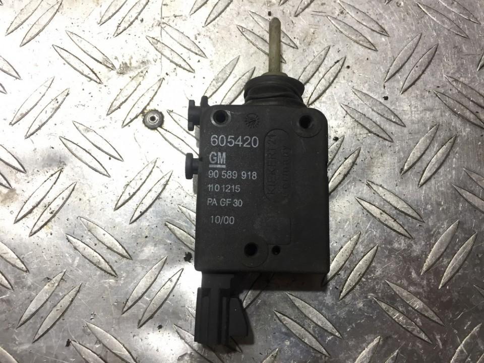 Central locking motor Opel Zafira 2002    0.0 90589918
