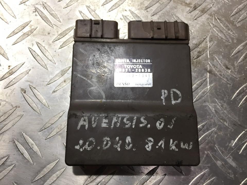 Блок управления двигателем 8987120030 131000-1041, 12v Toyota AVENSIS 2001 2.0
