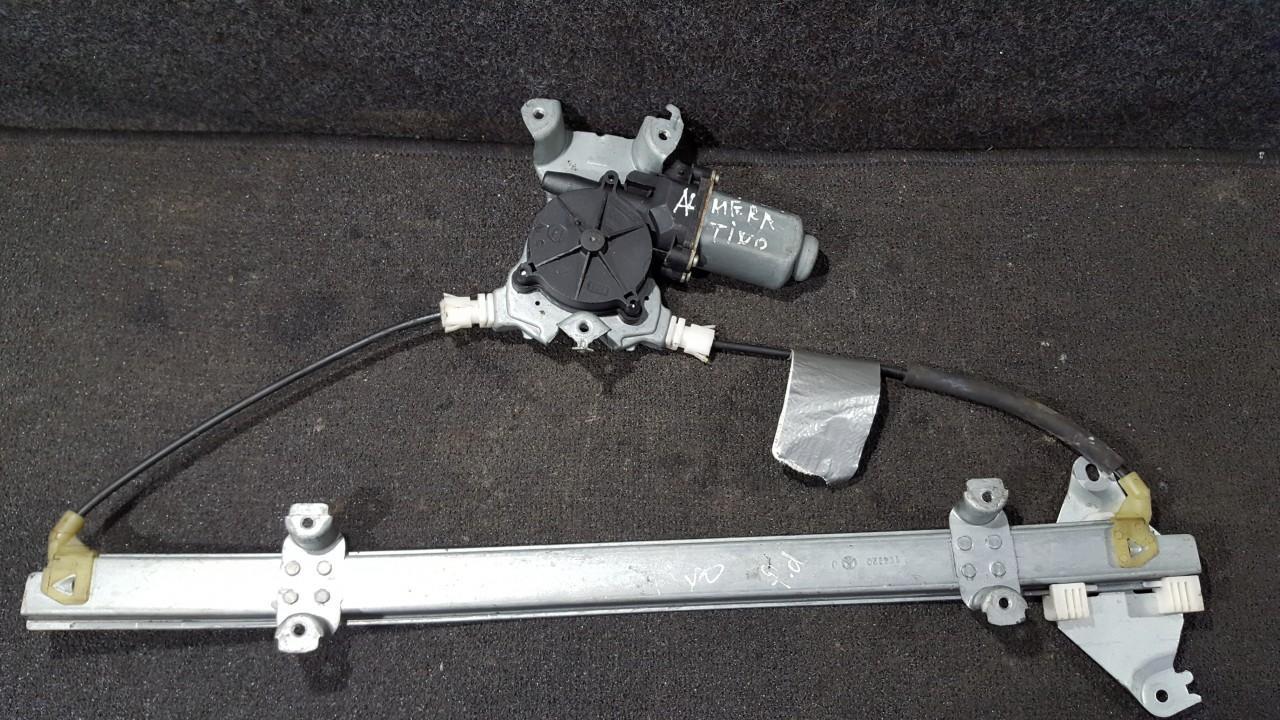 Door winder mechanism (Window Regulator) front right side 114920 NENUSTATYTA Nissan ALMERA TINO 2002 2.2