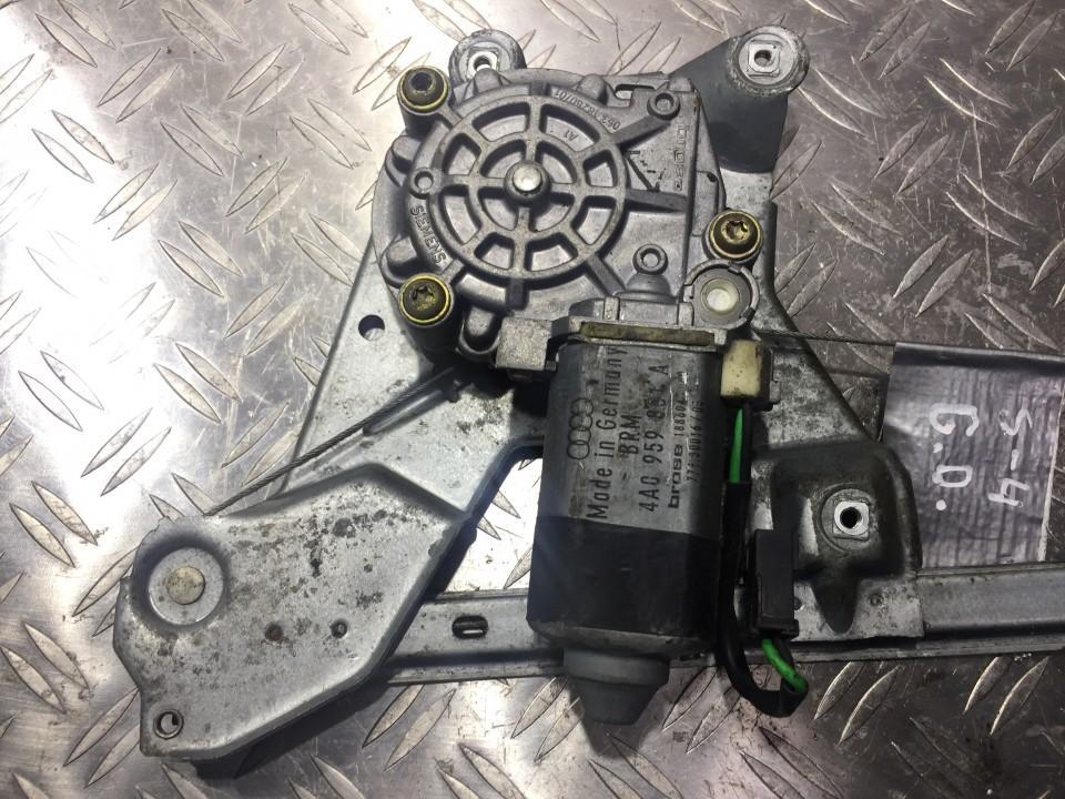Моторчик стеклоподъемника - задний правый 4a0959801a n/a Audi 80 1988 1.6