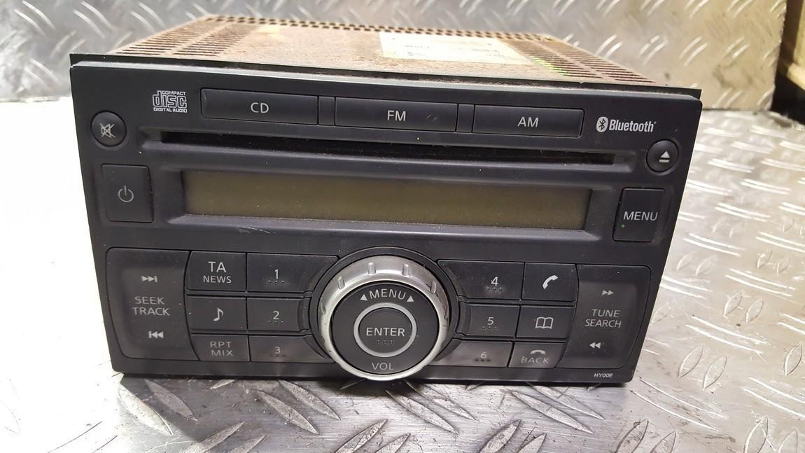 Autoradio Nissan Qashqai 2008    0.0 28185JD00A