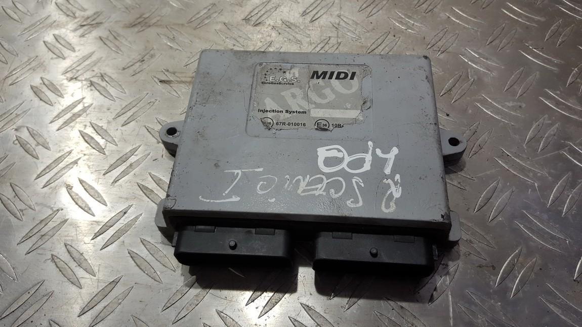 GAS control module (unit computer) Renault Scenic 1998    2.0 67r010016