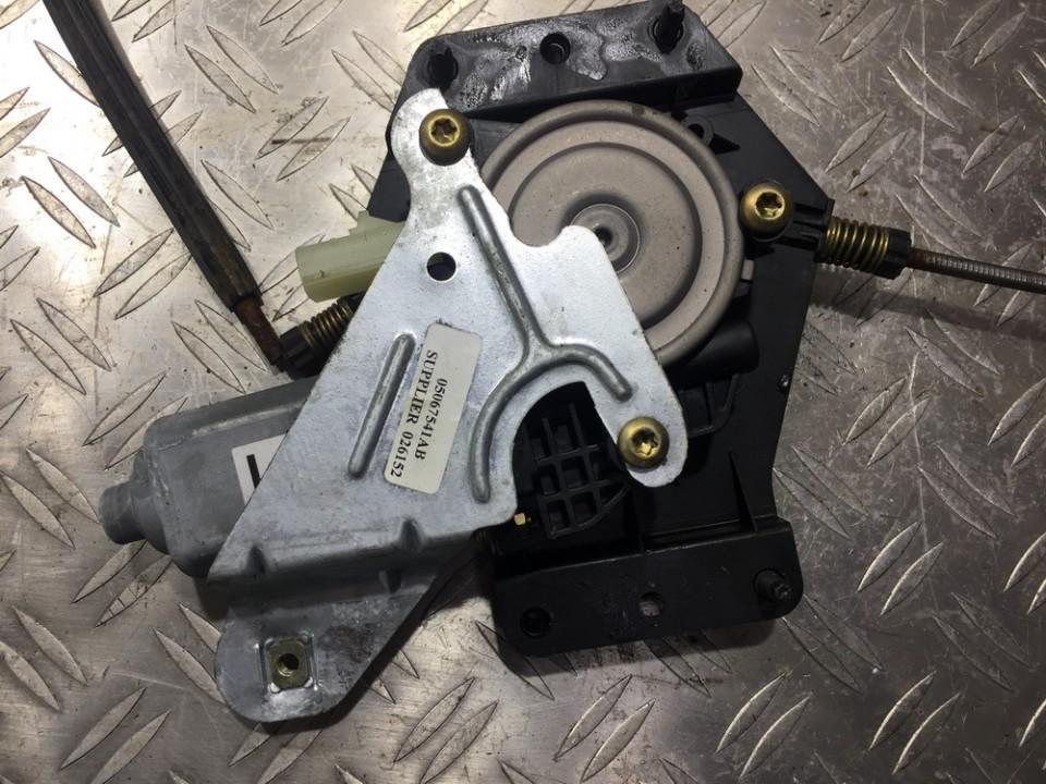 Duru lango pakelejo varikliukas P.K. 05067541AB n/a Chrysler PT CRUISER 2001 2.0