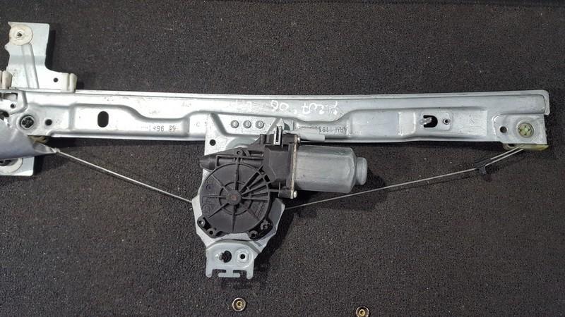 Door winder mechanism (Window Regulator) front right side 9681182280 nenustatyta Peugeot 207 2009 1.4