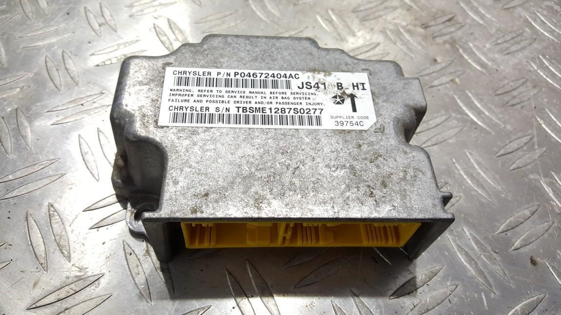 Airbag crash sensors module Chrysler Sebring 2008    0.0 P04672404AC