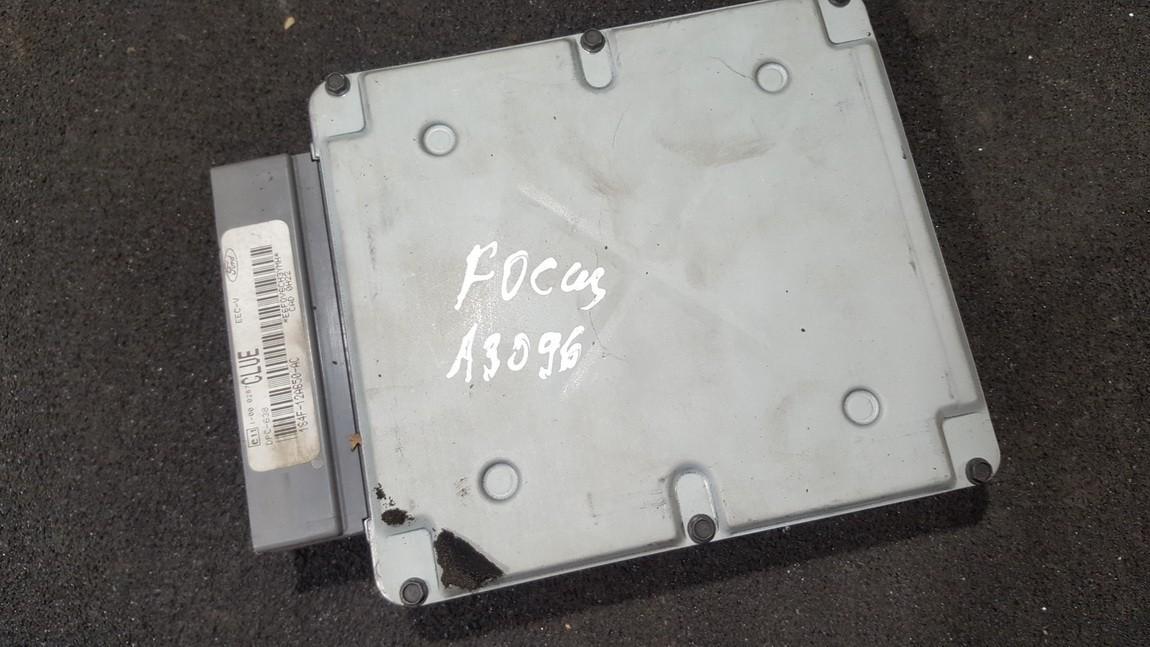 Блок управления двигателем 1s4f12a650ac f5sb14a624aa Ford FOCUS 2004 1.8