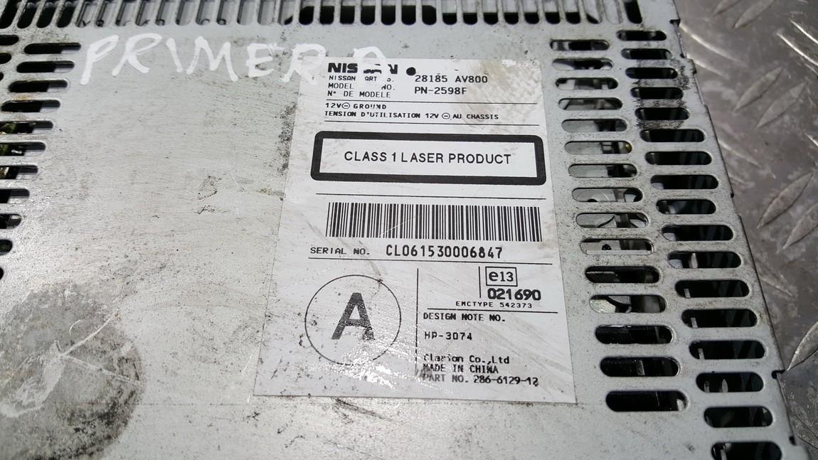 CD changers Nissan Primera 2004    0.0 28185AV800