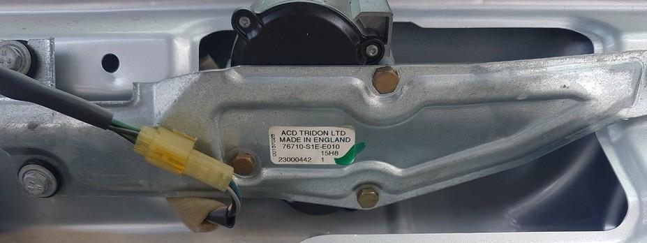 Rear wiper motor (Rear Screen Wiper Engine) Honda Civic 1997    1.8 76710s1ee010