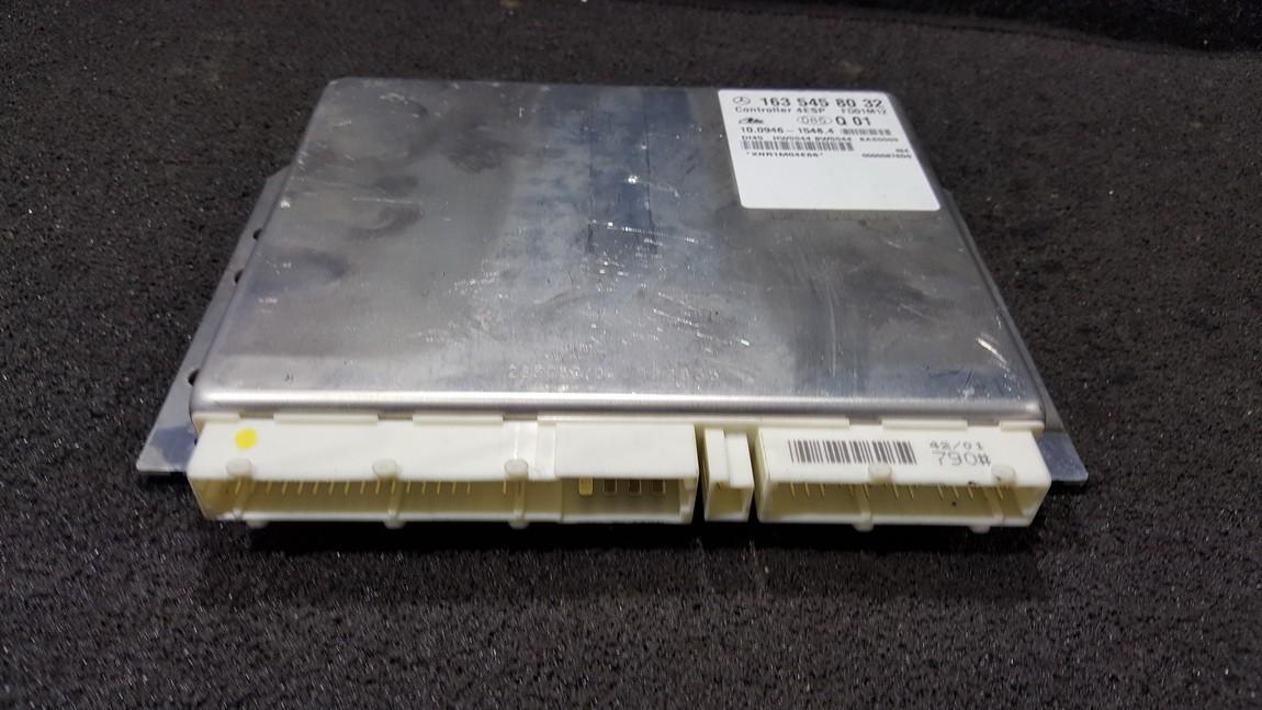 ECU Engine Computer  Mercedes-Benz ML-CLASS 2005    2.7 1635458032