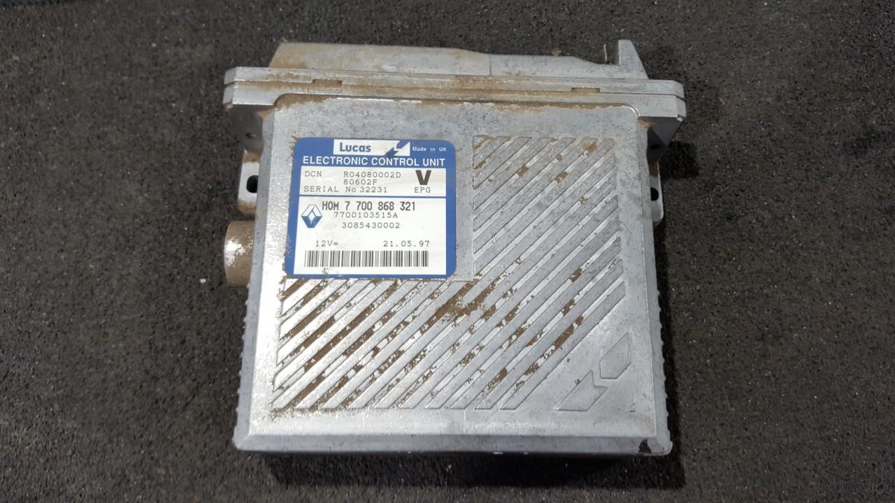 ECU Engine Computer  Volvo S40 1997    1.9 R04080002D