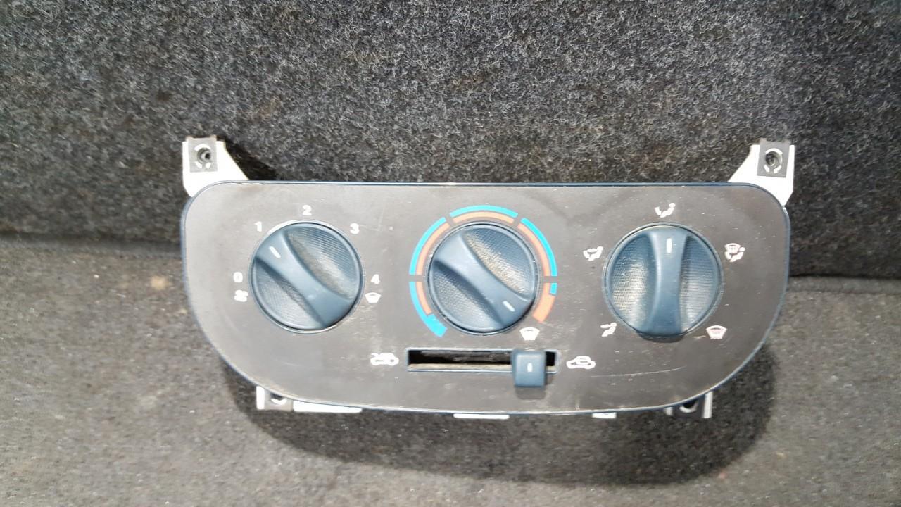 Climate Control Panel (heater control switches) NENUSTATYTA NENUSTATYTA Fiat DOBLO 2007 1.3