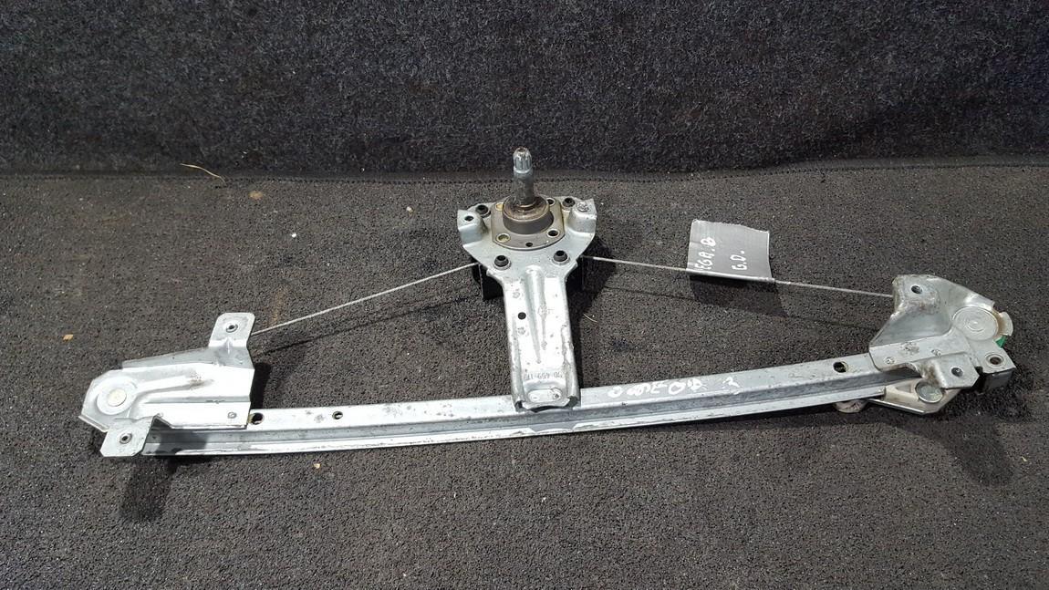 Door winder mechanism -  rear left side 90459119 nenustatyta Opel OMEGA 1994 2.0