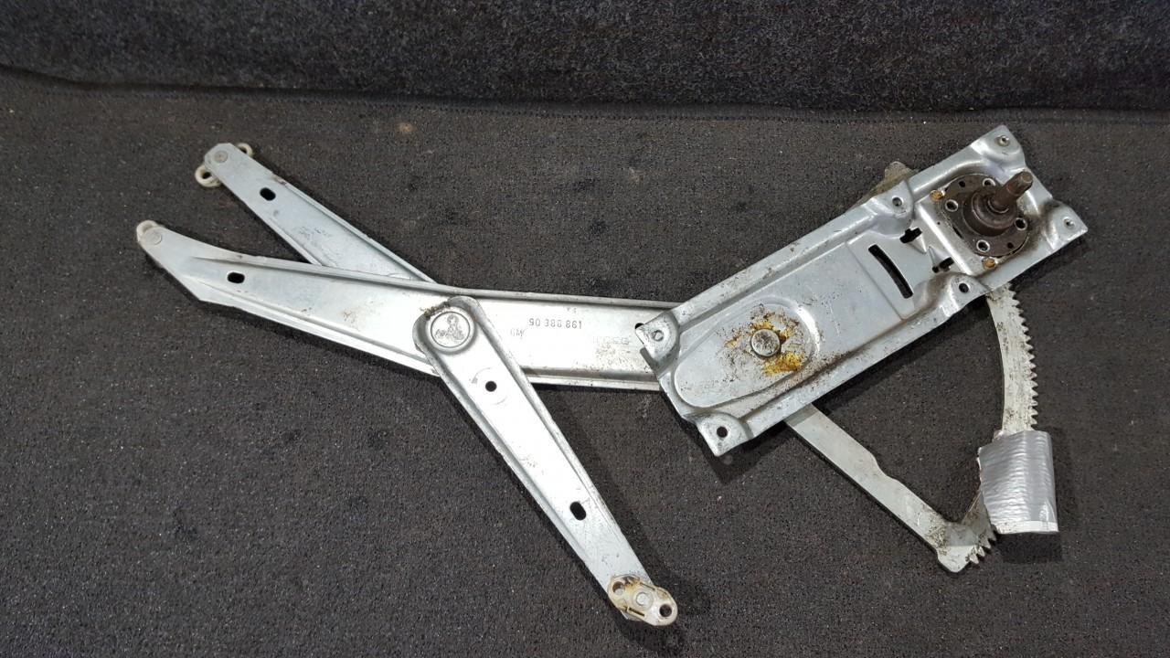 Door winder mechanism (Window Regulator) front left side 90388861 NENUSTATYTA Opel COMBO 1999 1.7