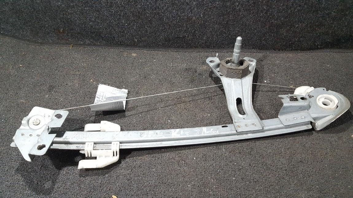 Door winder mechanism (Window Regulator) rear left side 9623109780 n/a Peugeot 206 1998 1.4