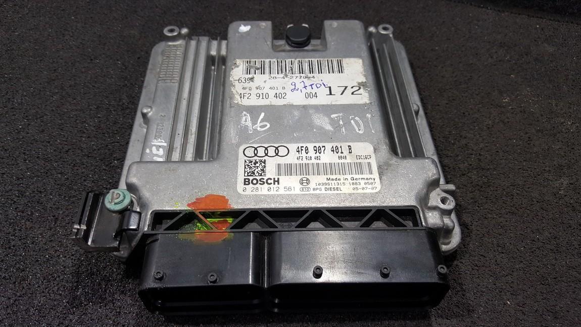 ECU Engine Computer  Audi A6 2006    3.0 4F0907401B